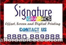 1st picture of Printed services offered by Signature Graphics Offer in Cebu, Philippines