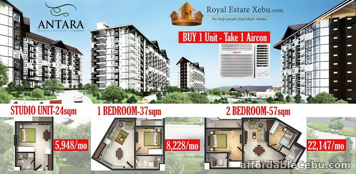 1st picture of Residential Units for sale at Antara in Talisay City Cebu For Sale in Cebu, Philippines