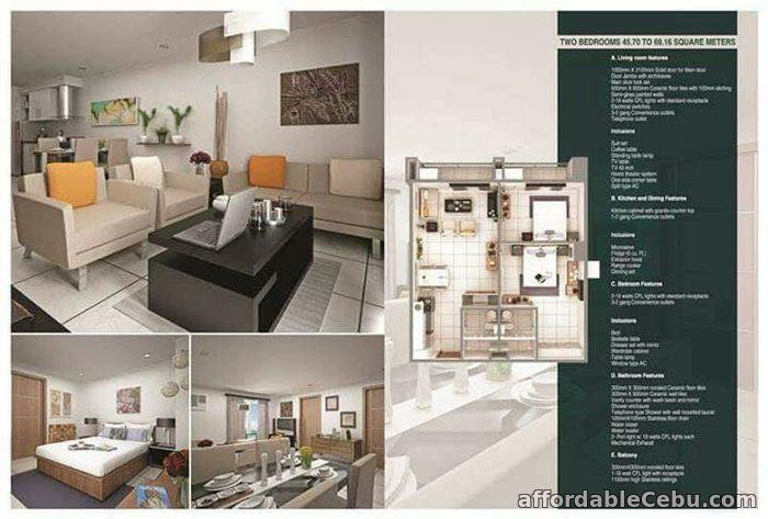 2nd picture of Fully Furnished Unit at La Menda Residences in Busay, Cebu City For Sale in Cebu, Philippines