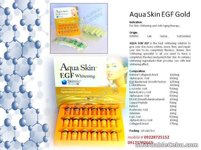 1st picture of Aqua skin gold egf in the Philippines For Sale in Cebu, Philippines