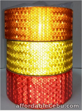 1st picture of RT6600-03 SMALL CHECK HONEY COMB PVC REFLECTIVE TAPE For Sale in Cebu, Philippines