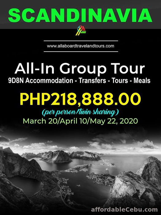 1st picture of Scandinavia All-In Group Tour Offer in Cebu, Philippines