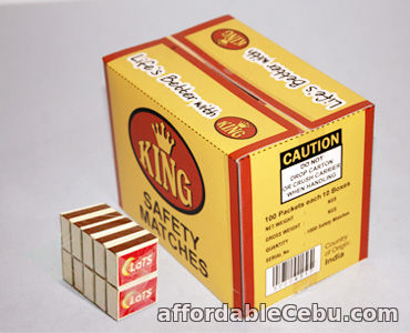 4th picture of Wholesale Supplier of Household Safety Matches in UAE Offer in Cebu, Philippines