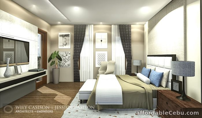 3rd picture of FOR SALE: Brand New Pre-Selling 2-Storey Asian Modern Zen Type House and Lot For Sale in Cebu, Philippines
