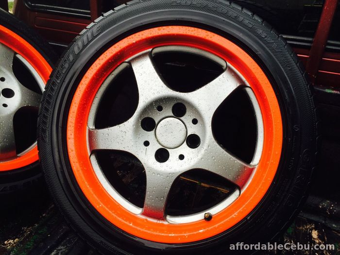 1st picture of 1 set Tire and Rim with free chair For Sale in Cebu, Philippines