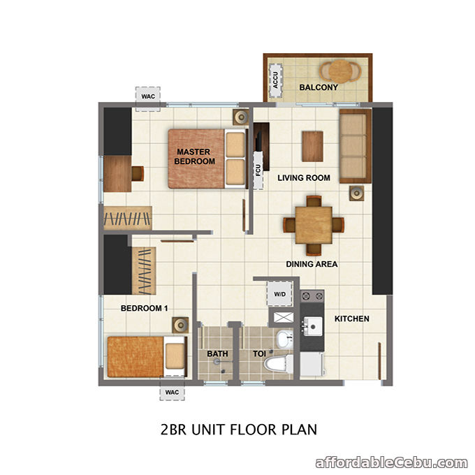 3rd picture of For Sale Avida Towers Cloverleaf (Condominium) For Sale in Cebu, Philippines