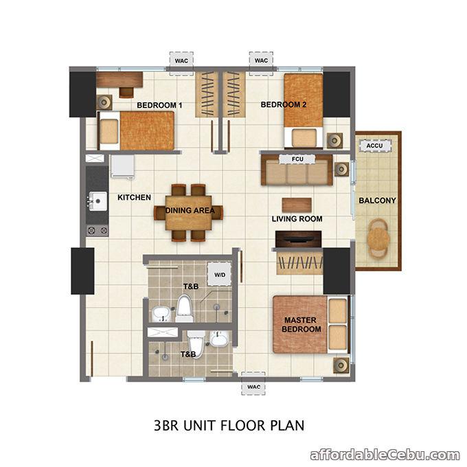 4th picture of For Sale Avida Towers Cloverleaf (Condominium) For Sale in Cebu, Philippines