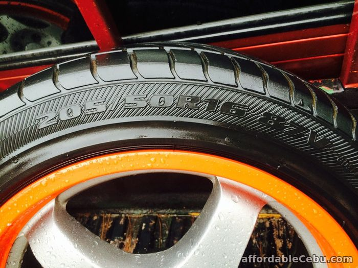 3rd picture of 1 set Tire and Rim with free chair For Sale in Cebu, Philippines