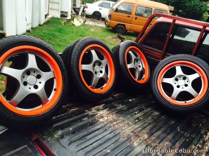 2nd picture of 1 set Tire and Rim with free chair For Sale in Cebu, Philippines