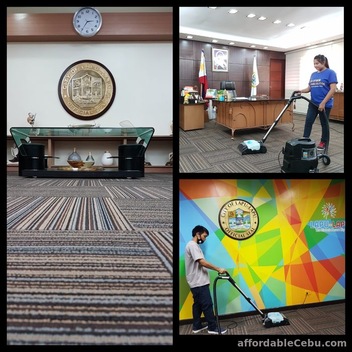 1st picture of Carpet Cleaning & Shampooing, Upholstery, Home & Office Cleaning Services Offer in Cebu, Philippines