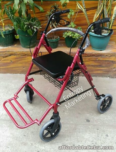 1st picture of Rollator Adult Walker with footrest For Sale in Cebu, Philippines