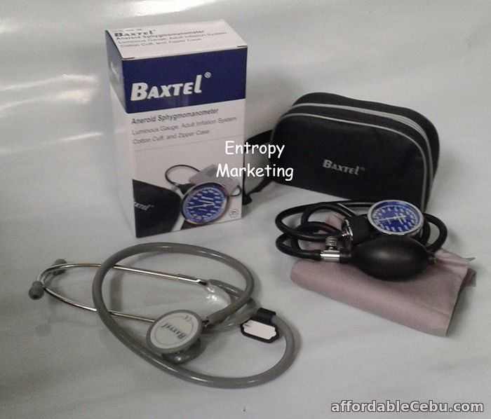 2nd picture of Baxtel Aneroid BP Sphgymomanometer with stethoscope For Sale in Cebu, Philippines