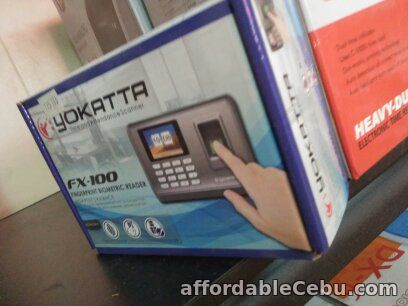 1st picture of FX-100 fingerprint time and attendance recorder For Sale in Cebu, Philippines