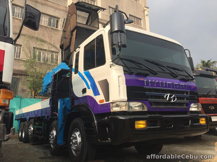 3rd picture of 15 tonner boom truck or crane truck for sale For Sale in Cebu, Philippines