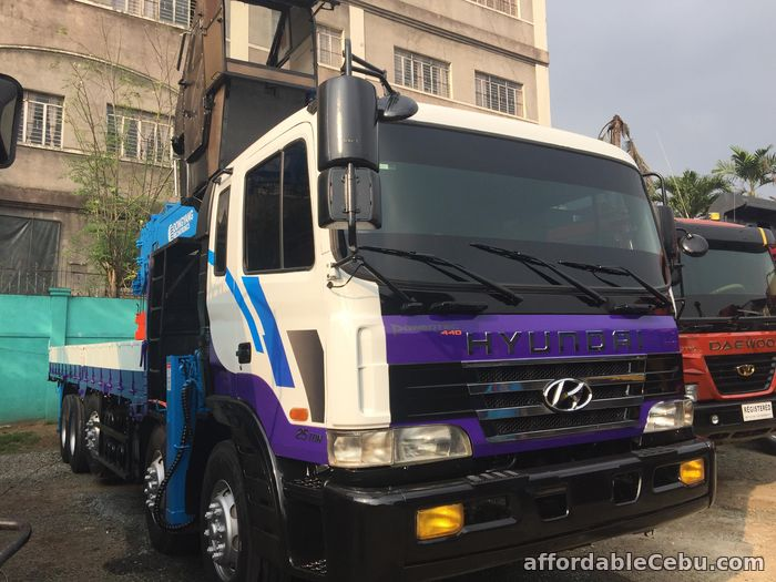 1st picture of 15 tonner boom truck or crane truck for sale For Sale in Cebu, Philippines