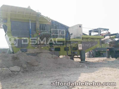 1st picture of Wheeled Mobile Crusher for Crushing Stone into Building Aggregate For Sale in Cebu, Philippines