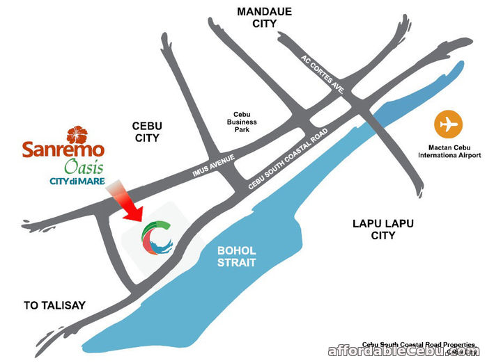 5th picture of Ready for Occupancy 2 Bedroom Unit at Sanremo in City di Mare For Sale in Cebu, Philippines