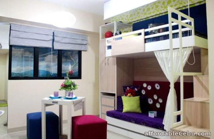 4th picture of Studio Unit for sale at Eagle's Nest very accessible to Sacred Heart School For Sale in Cebu, Philippines