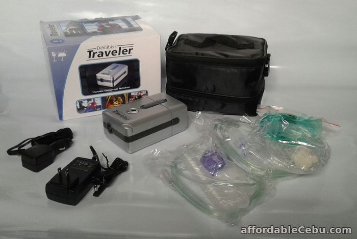 1st picture of DeVilbiss Rechargeable Traveler Portable Compressor Nebulizer For Sale in Cebu, Philippines