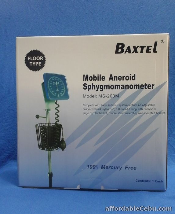 1st picture of Baxtel BP Mobile Aneroid Spgymomanometer For Sale in Cebu, Philippines