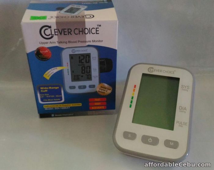 2nd picture of Clever Choice Digital BP Blood Pressure Talking Monitor SDI 1886AT For Sale in Cebu, Philippines