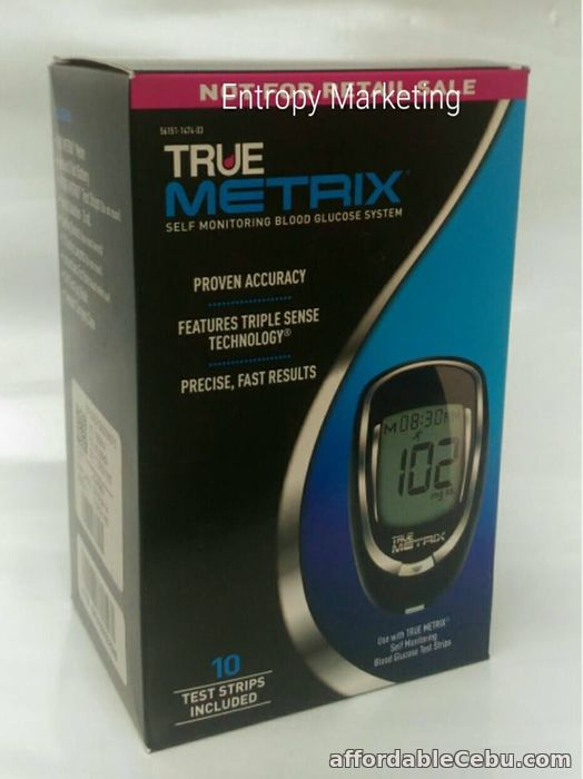 1st picture of True Metrix Blood Glucose Glucometer USA with strips For Sale in Cebu, Philippines