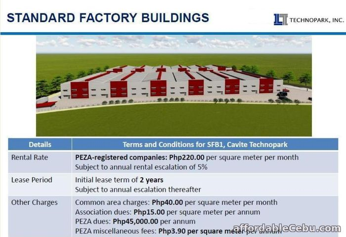 2nd picture of Cavite Technopark Warehouse For Rent For Sale in Cebu, Philippines