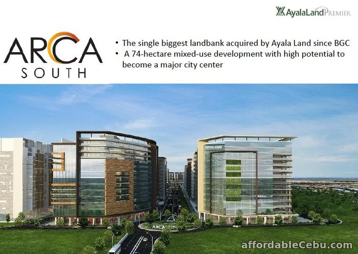 1st picture of Arca South Commercial Property For Sale in Cebu, Philippines