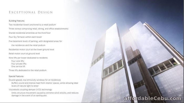 5th picture of Park Central Towers For Sale in Cebu, Philippines