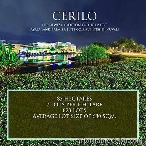 1st picture of Cerilo Nuvali For Sale in Cebu, Philippines
