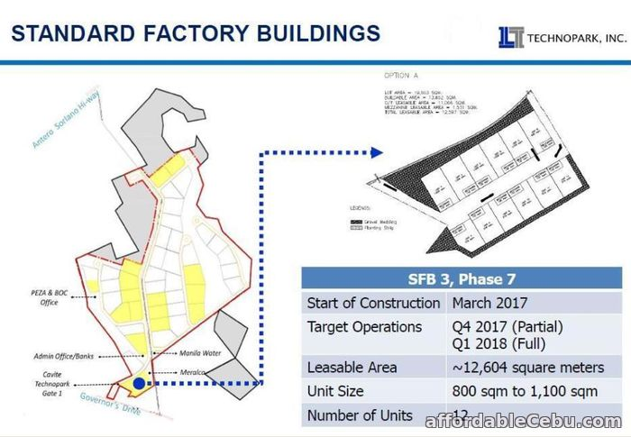 3rd picture of Cavite Technopark Warehouse For Rent For Sale in Cebu, Philippines