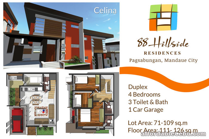 4th picture of 88 Brookside Residences -- Convenient southside living. For Sale in Cebu, Philippines