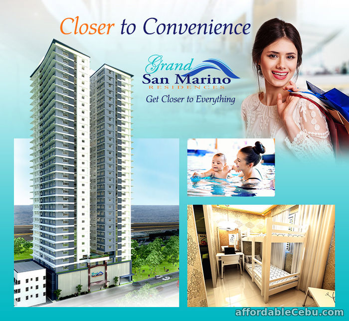 1st picture of Only 10K reservation fee as low as P6736 a month  1BR unit across Robinsons Galleria For Sale in Cebu, Philippines