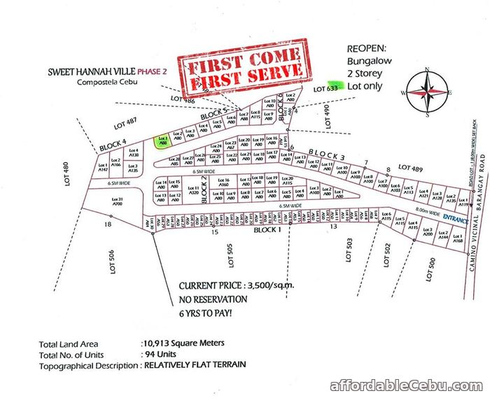 3rd picture of RE-OPEN LOT FOR SALE For Sale in Cebu, Philippines