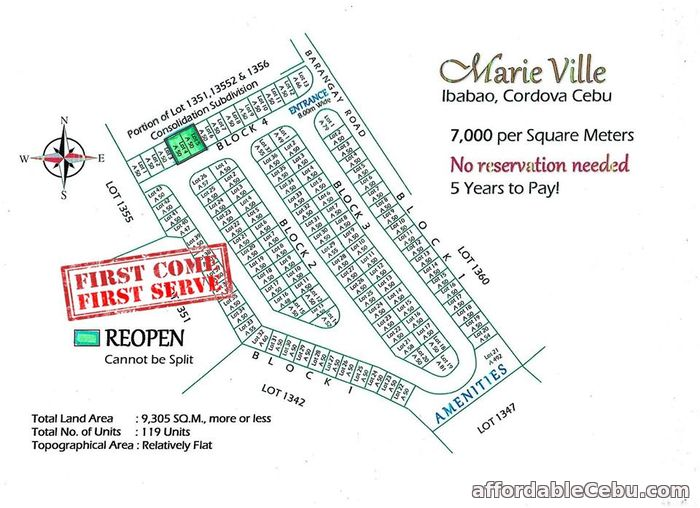 1st picture of RE-OPEN LOT FOR SALE For Sale in Cebu, Philippines