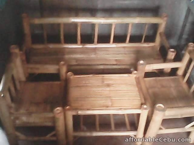 1st picture of Bamboo Sala Sets For Sale in Cebu, Philippines