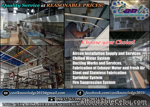 1st picture of Ducting--Chilled Water--Fire Suppression etc. Bulacan For Sale in Cebu, Philippines