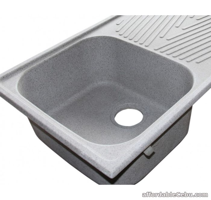 5th picture of Markee Bazzini Single Bowl with drainboard Offer in Cebu, Philippines