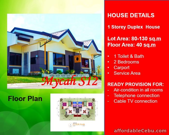 1st picture of Ready for occupancy house for sale at Eastland Estate For Sale in Cebu, Philippines