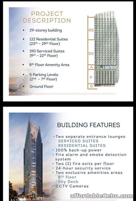 2nd picture of Condo units for sale at gorordo near Ayala For Sale in Cebu, Philippines