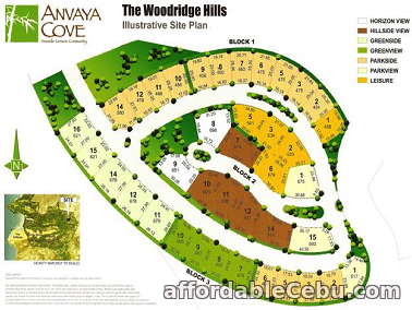 1st picture of For Sale: Anvaya Cove Lot for sale in Woodrige Hills For Sale in Cebu, Philippines