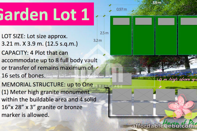 5th picture of Haven of Peace Memorial Garden(GARDEN LOT 1) For Sale in Cebu, Philippines