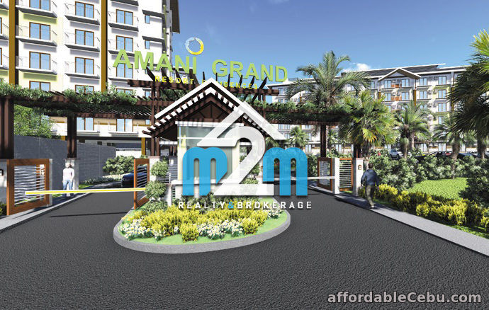 1st picture of Amani Grand Residences 1 Bedroom Unit Lapu-Lapu City For Sale in Cebu, Philippines