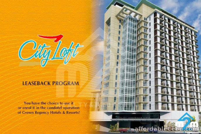 1st picture of Cityloft One Condominium(STUDIO TYPE) General Maxilom, Corner Gorordo Avenue, Cebu City For Sale in Cebu, Philippines