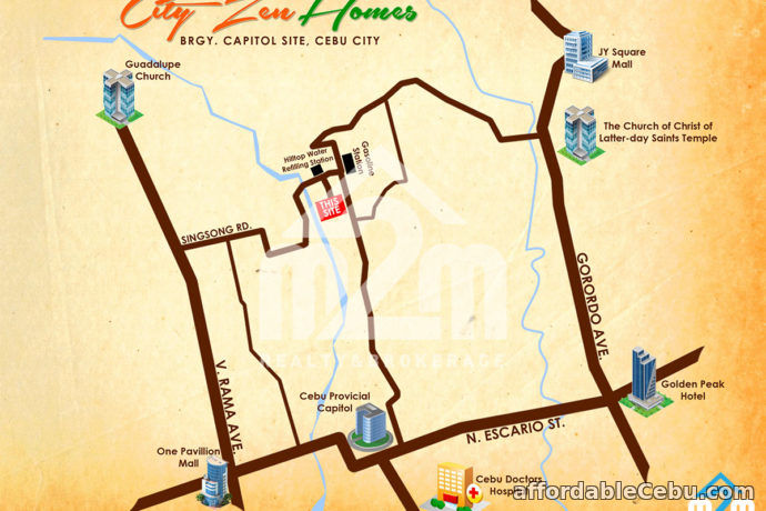 2nd picture of City Zen Homes(TOWNHOUSE) Brgy. Capitol Site, Cebu City For Sale in Cebu, Philippines