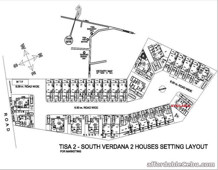 3rd picture of South Verdana 2 Subdivision(KATRINA MODEL) Tisa, Labangon, Cebu City For Sale in Cebu, Philippines