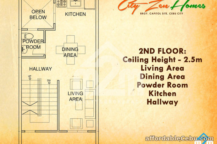 4th picture of City Zen Homes(TOWNHOUSE) Brgy. Capitol Site, Cebu City For Sale in Cebu, Philippines