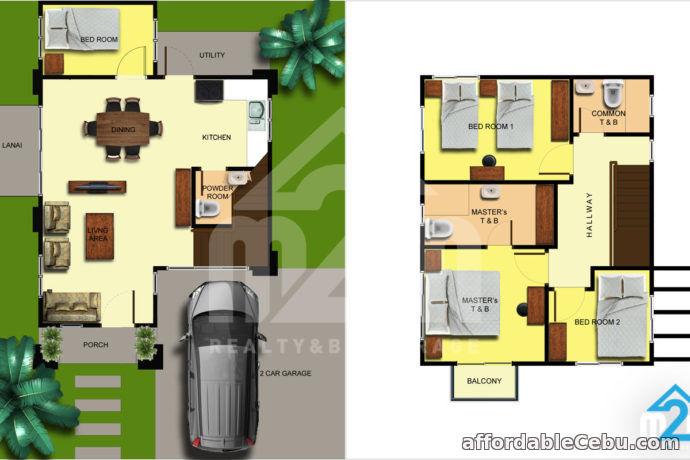 3rd picture of Luana Homes Dos(SINGLE DETACHED MODEL) Upper Calajoan, Minglanilla, Cebu For Sale in Cebu, Philippines