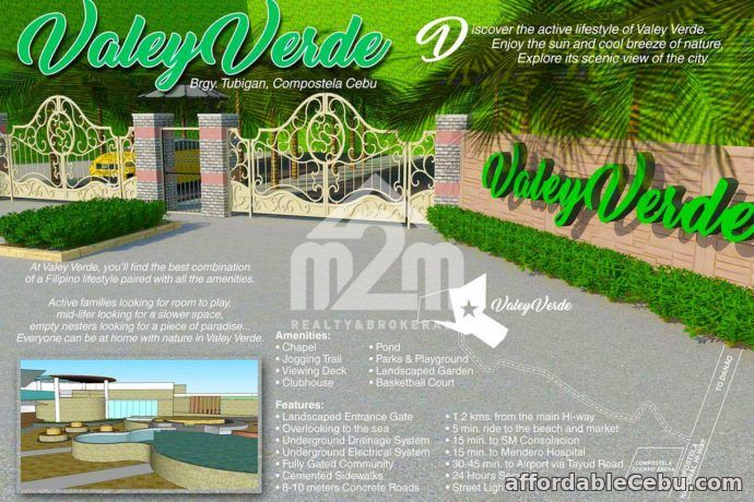 1st picture of Valley Verde(LOT ONLY) Tubigan, Compostela, Cebu City For Sale in Cebu, Philippines