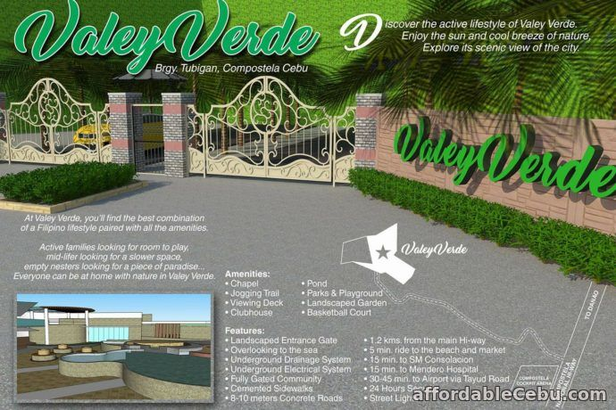 2nd picture of Valley Verde(LOT ONLY) Tubigan, Compostela, Cebu City For Sale in Cebu, Philippines